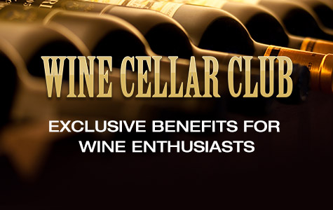Wine cellar club. Exclusive benefits for wine enthusiasts.
