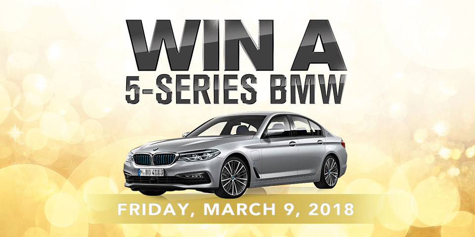 Win A 5-Series BMW